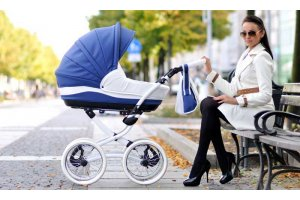 Выбор зимней коляски для новорожденного