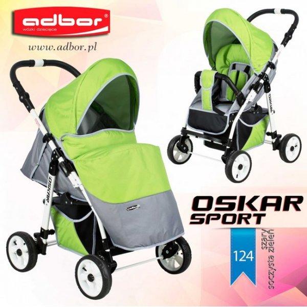 Прогулочная коляска Adbor Oskar Sport