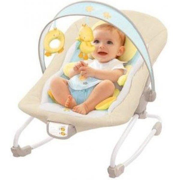 Кресло-качалка Bright Starts Уточка (до 18 кг)