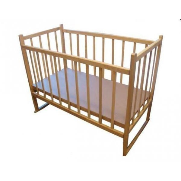 Детская кроватка КФ простая с качалкой