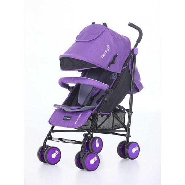 Коляска трость Viva Kids Hardnut Lux Фиолетовый