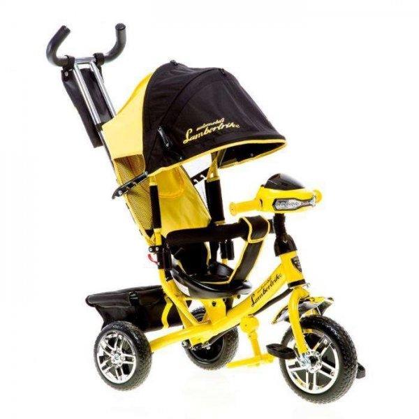 Велосипед трехколесный Azimut Lambortrike Air VIP с фарой (колеса на пене)