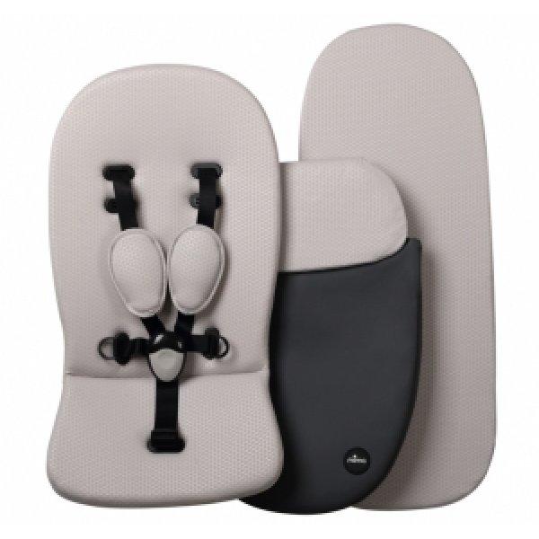S1101300SW - Комплект для коляски - Dark Grey / Stone White