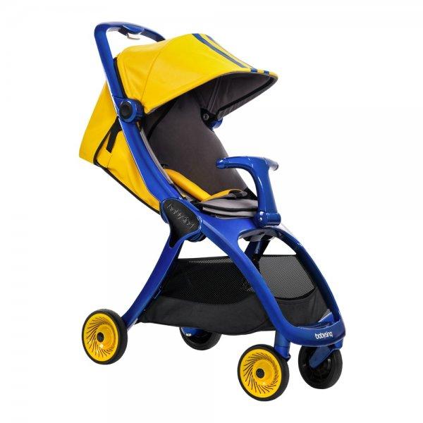 Прогулочная коляска Babysing K-GO Yellow/Blue