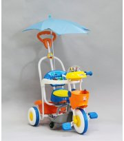 Велосипед трёхколёсный Geoby SR61S-BYT