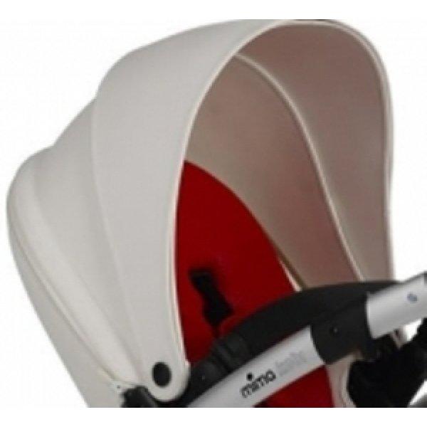 S1101005-07 - Капюшон на дополнительно сидение с люлькой (2 секции) - White