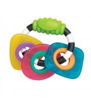 Прорезыватель для зубов погремушка Playgro Геометрические формы