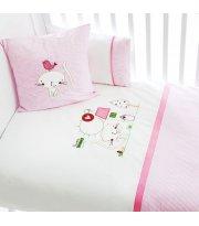 Детский постельный комплект Funna Baby Tweet Home 6 предметов