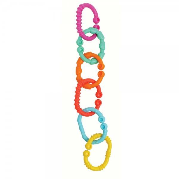 Прорезыватель для зубов Playgro Разноцветные кольца
