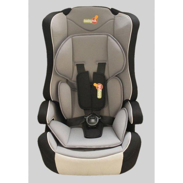 BabyHit. Автокресло Log's seat - black grey - (1/2/3)