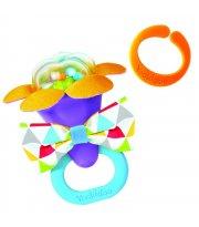 Погремушка для новорожденных Yookidoo Фиолетовое