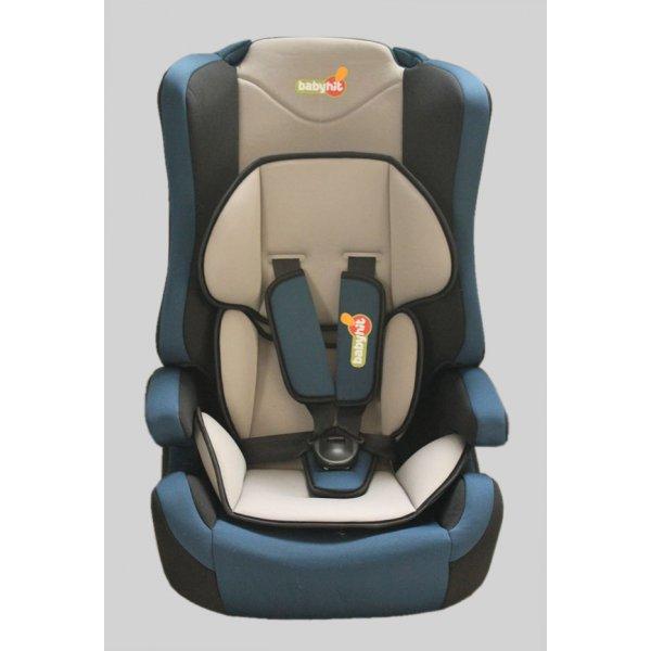 BabyHit. Автокресло Log's seat - grey blue - (1/2/3)