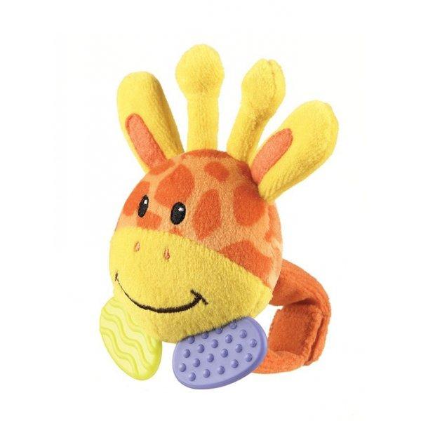 0101446 - Погремушка на ручку -Жираф- (от 0 мес.)