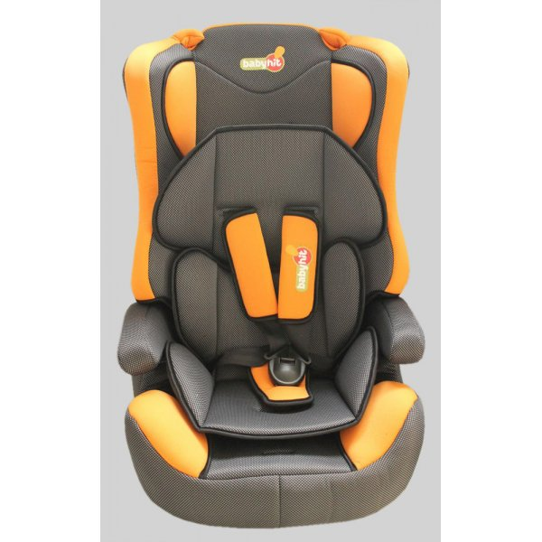 BabyHit. Автокресло Log's seat - orange blue - (1/2/3)