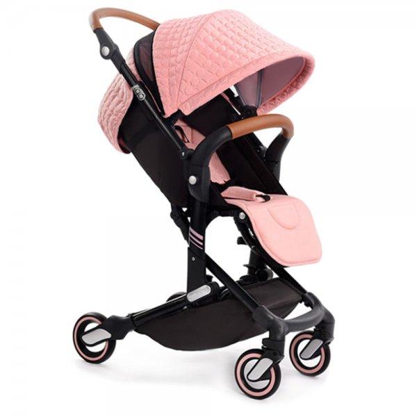 Прогулочная коляска Babysing I-GO Love Pink