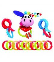 Игрушка-подвеска на цепочке Yookidoo Коровка