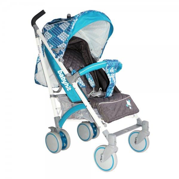 Коляска трость BabyHit Rainbow (D200) цвет Cubic Blue