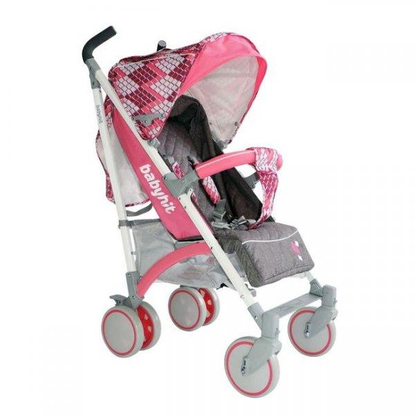 Коляска трость BabyHit Rainbow (D200) цвет Cubic Pink