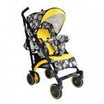 Коляска трость BabyHit Rainbow (D200) цвет Yellow black