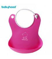 Фартук для кормления Babyhood Розовый