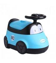 Детский горшок Автомобиль, голубой Babyhood