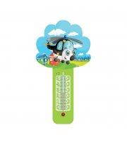 Термометр комнатный на пластиковом основании Стеклоприбор Любимчик (300071)