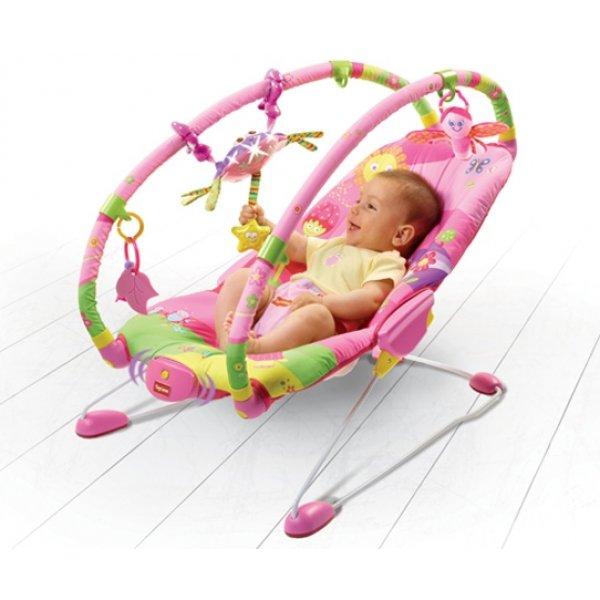 "Tiny Love ""Крошка принцесса"" массажное кресло-качалка"