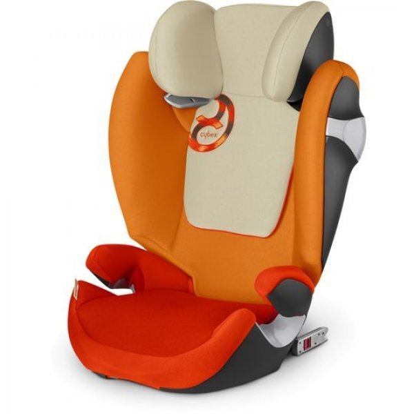 Автокресло Cybex Solution M-Fix, цвет Autumn Gold-burnt red