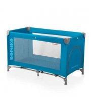Кровать-манеж Bomiko Basic, цвет голубой