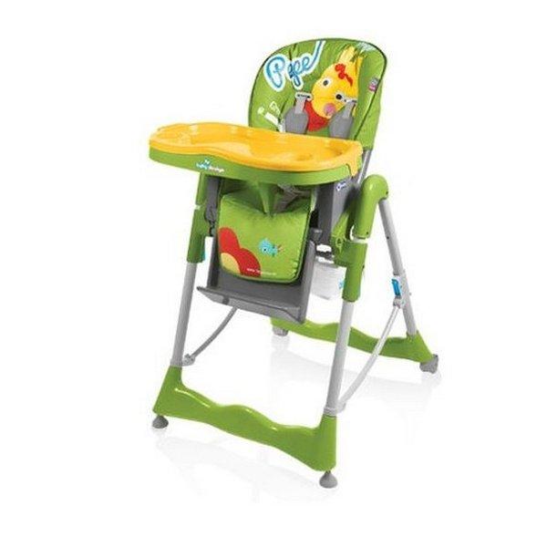 Стульчик для кормления Baby Design Pepe Colors, цвет 04