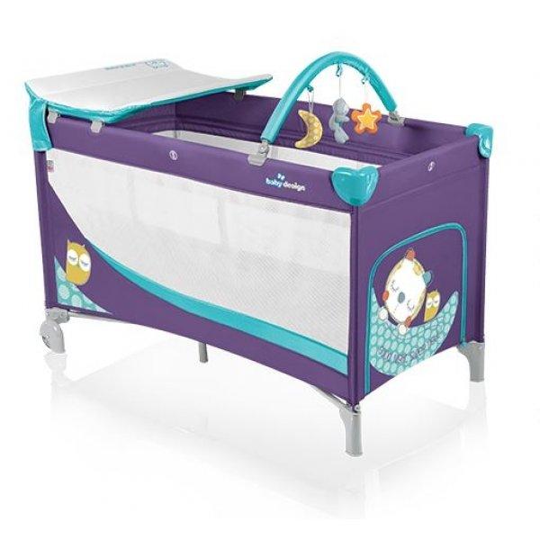Манеж-кроватка Baby Design Dream, цвет 06