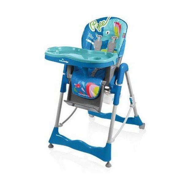 Стульчик для кормления Baby Design Pepe Colors, цвет 03
