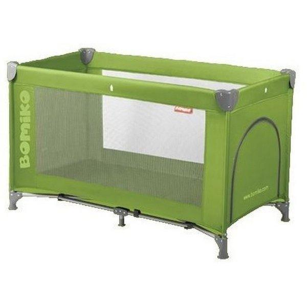 Кровать-манеж Bomiko Basic, цвет зеленый