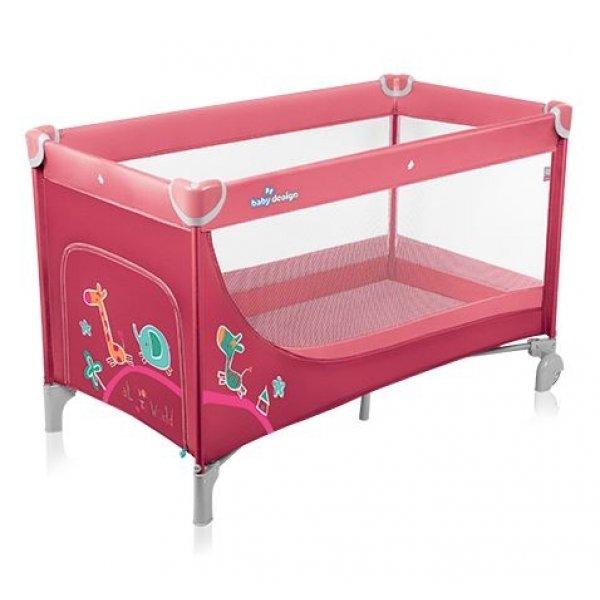 Кровать-манеж Baby Design Simple, цвет 02.14