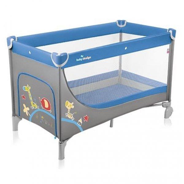 Кровать-манеж Baby Design Simple, цвет 03.14