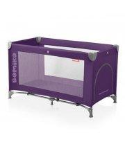 Кровать-манеж Bomiko Basic, цвет фиолетовый
