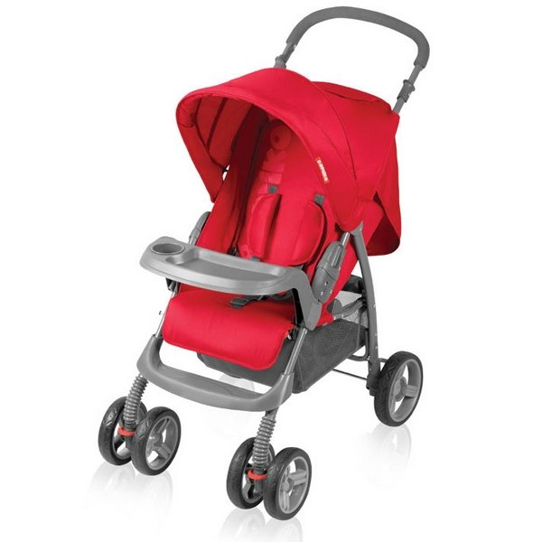 Прогулочная коляска Bomiko Model L, цвет красный