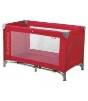Кровать-манеж Bomiko Basic, цвет красный