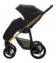 Прогулочная коляска Bebetto Nico Estilo 03 Черный / Золотая рама