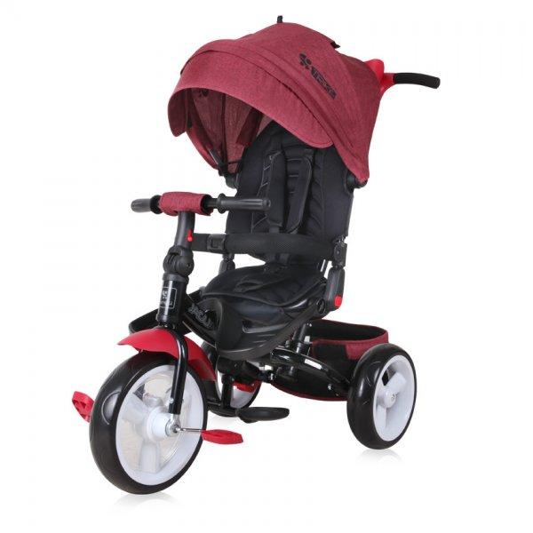 Трехколесный велосипед Lorelli Jaguar Красно-черный