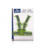 Детские вожжи Lorelli Baby Walk Safety Harness Серо-зелёный