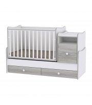 Детская кровать-трансформер 6 в 1 Trend White Artwood