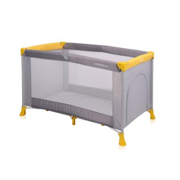 Манеж-кровать Lorelli Verona 1L Grey&Yellow