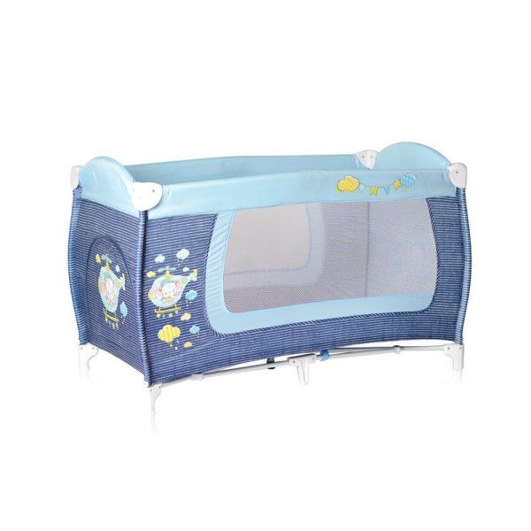 Манеж-кровать Lorelli Danny 1 Layers Blue Helicopter