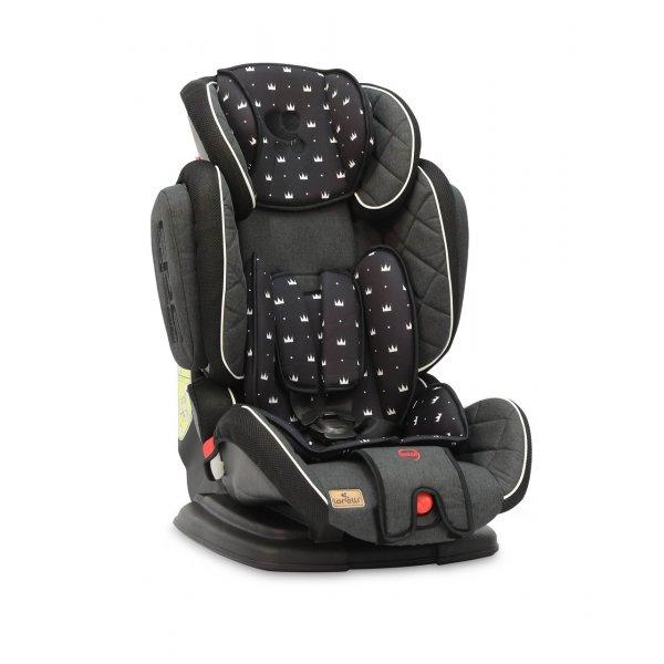 Автокресло Lorelli Magic Premium + sps (9-36 кг) Черно-серый