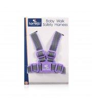 Детские вожжи Lorelli Baby Walk Safety Harness Серо-фиолетовый