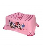 Ступенька в ванную Lorelli Disney Розовый