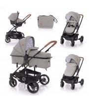Детская коляска Lorelli S-500 set Темно-серый