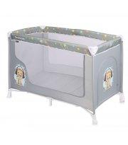 Манеж-кровать Lorelli San Remo 1L Grey Cute Kitten