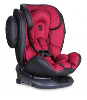 Автокресло LORELLI Aviator + sps + isofix 0+/1/2/3 (0-36kg) black&red